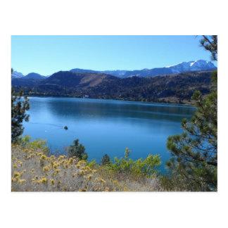 June Lake, California Postcard