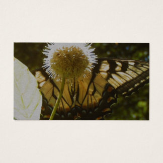 June Monarch Flower Business Card