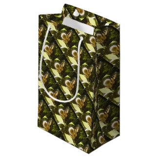 June Monarch Flower Gift Bag