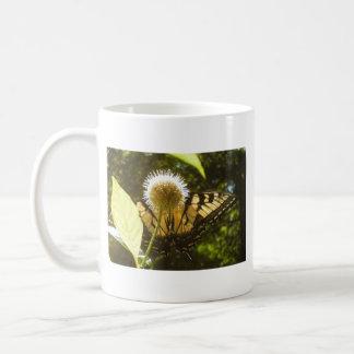 June Monarch Flower Mug