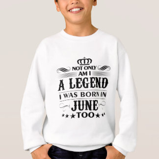 June month Legends tshirts