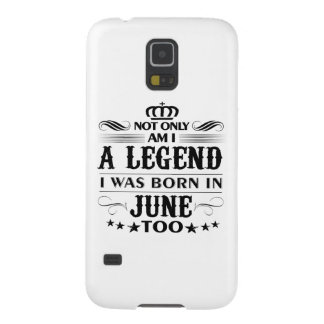 June month Legends tshirts Galaxy S5 Cases