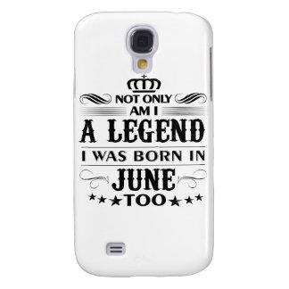 June month Legends tshirts Samsung Galaxy S4 Case