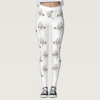 June: Pearl Rose leggings 2