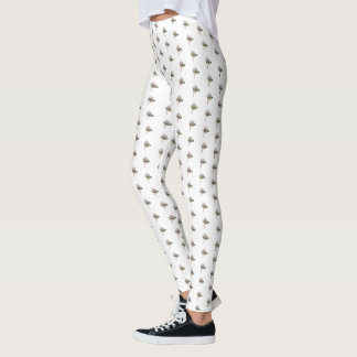 June: Pearl Rose leggings 3