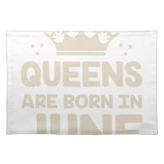 June Queen Placemat