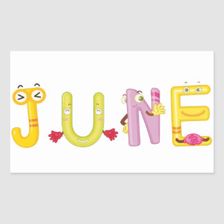 June Sticker
