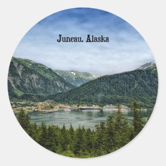 Juneau, Alaska Classic Round Sticker