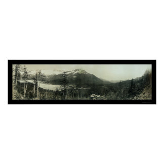 Juneau Alaska Region Photo 1908 Poster