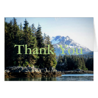 Juneau Thank You Card