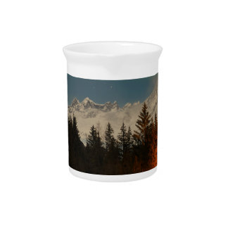 Juneau's Northern Lights Beverage Pitcher