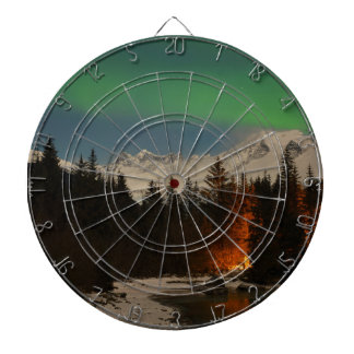 Juneau's Northern Lights Dartboard