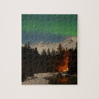 Juneau's Northern Lights Jigsaw Puzzle