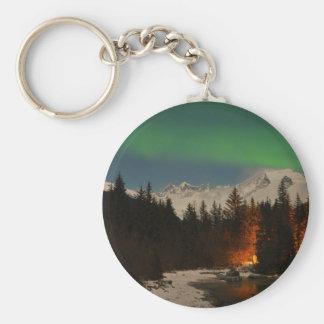 Juneau's Northern Lights Key Ring