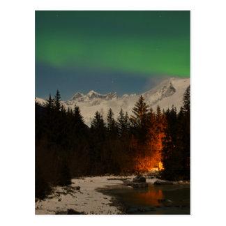 Juneau's Northern Lights Postcard