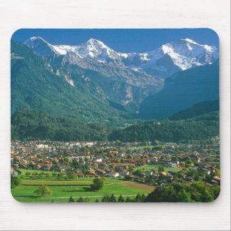 Jungfrau range mouse pad