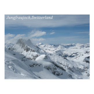 Jungfraujoch,Switzerland Postcard