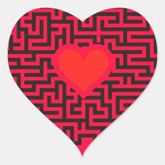 Junggesellenabschied Zubehört Heart Stickers