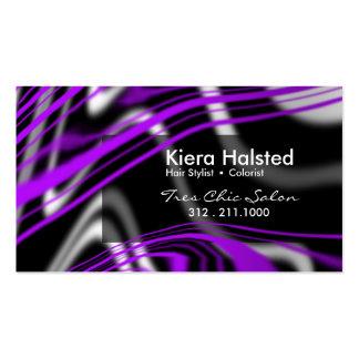 Jungle-1 Business Card (purple/black)