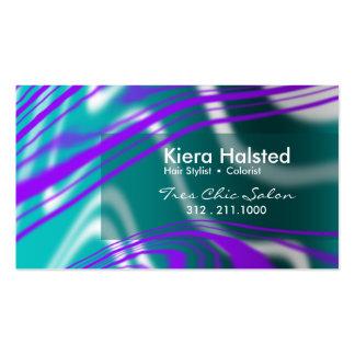 Jungle-1 Business Card (purple/teal)