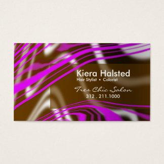 Jungle-1 Business Card (violet/brown)