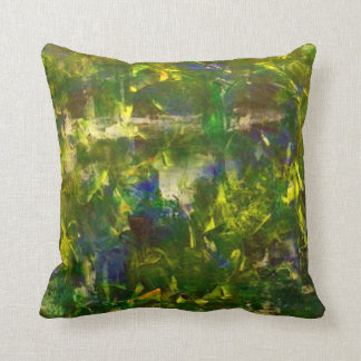 Jungle Abstract Cushion