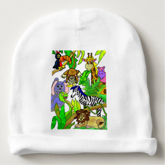 Jungle Afternoon Baby Beanie