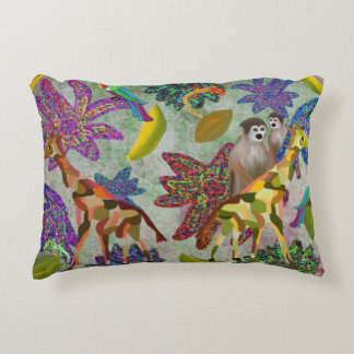 Jungle Animal Accent Pillow