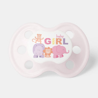 Jungle Animals | Baby Girl Pacifiers