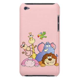 Jungle Animals Barely There iPod Case