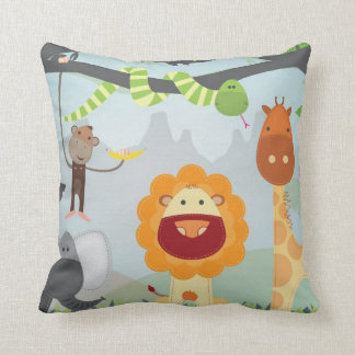 Jungle Animals Cushion