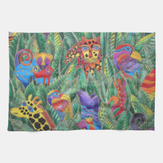 JUNGLE ANIMALS TEA TOWEL