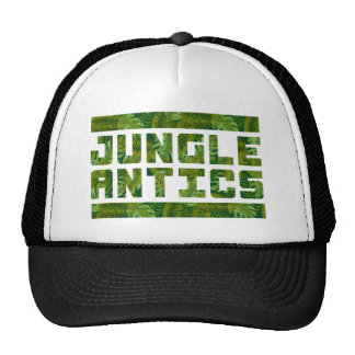 Jungle Antics Bold Tropical Text Cap