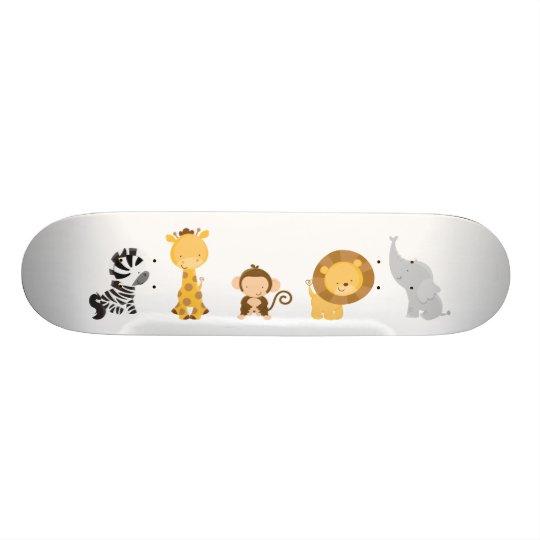 Jungle Babies 21.3 Cm Mini Skateboard Deck