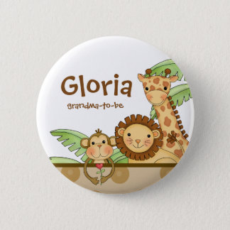 Jungle Babies - Grandma-To-Be Button