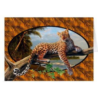 Jungle Beauty Card