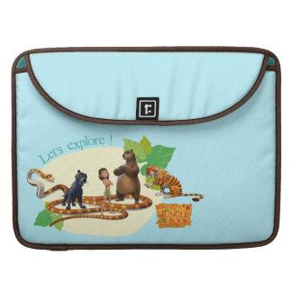 Jungle Book Group Shot 4 Sleeve For MacBooks