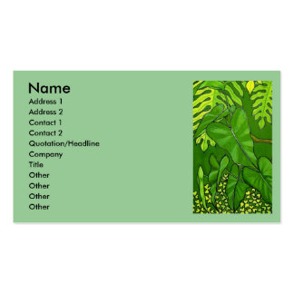 Jungle Business Cards