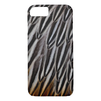 Jungle cock feathers close-up iPhone 8/7 case