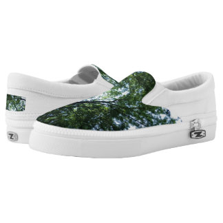 Jungle Custom Zipz Slip On Shoes,  Men & Women Printed Shoes