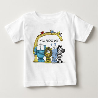 Jungle Friends-Wild About You Baby T-Shirt