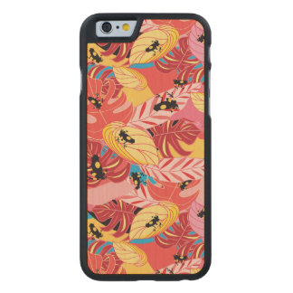 Jungle Frogs Carved® Maple iPhone 6 Case