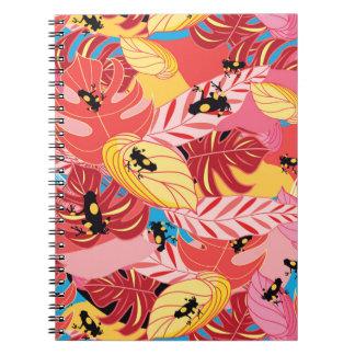 Jungle Frogs Spiral Notebook