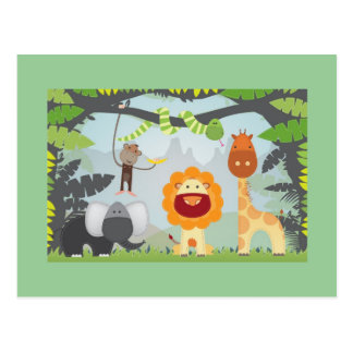 Jungle Fun Postcard