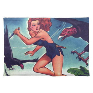 Jungle Girl and Condo Placemat