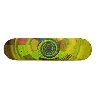 Jungle Green 20 Cm Skateboard Deck