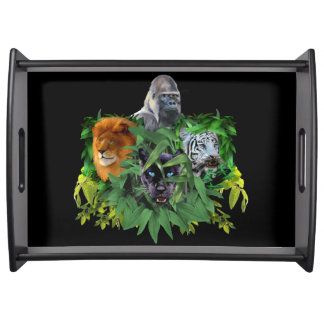 JUNGLE GUARDIANS SERVING TRAY