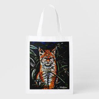 Jungle Kitty Reusable Bag