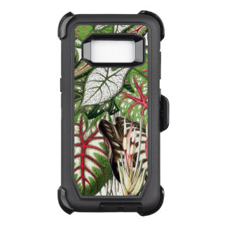 Jungle Leaves Defender Samsung Galaxy S8 Case