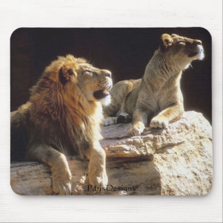 Jungle Lions Kenya Mouse Pad